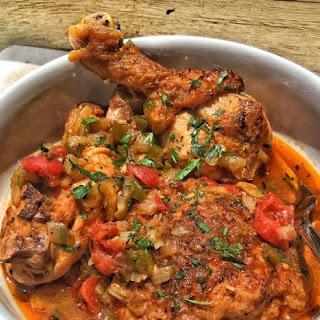 Stewed Chicken.