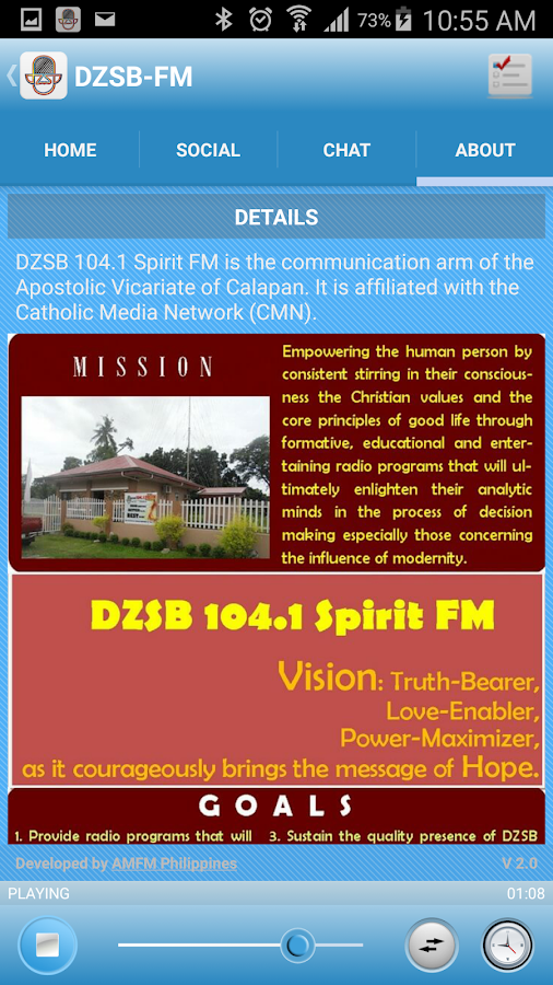 DZSB-FM- screenshot