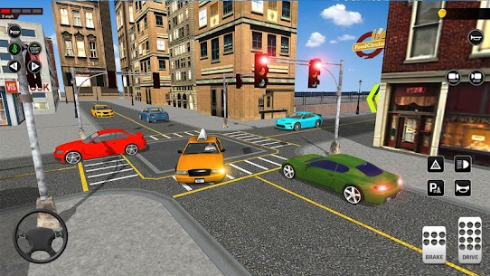City Taxi Driving simulator: PVP Cab Games 2020 1.45 Android Mod APK 3