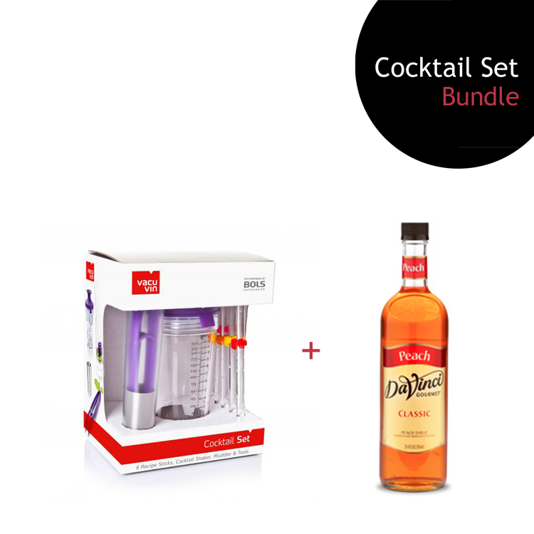 [Bundle] Cocktail Set + Peach Syrup by ECIATTO GROUP SDN BHD