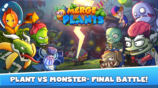 Merge Plants: Zombie Defense 1.0.7 screenshots 1