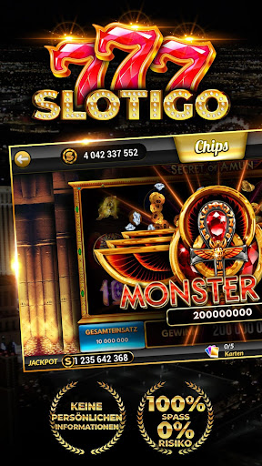 Slotigo - Online-Casino, Spielautomaten & Jackpots 4.5.17 screenshots 1