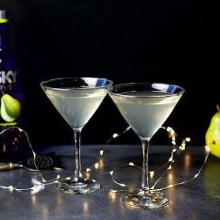 Sparkling Pear Martini Recipe
