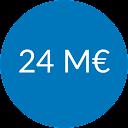 24M Investissements débloqués