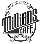 Logo for Millions Cafe