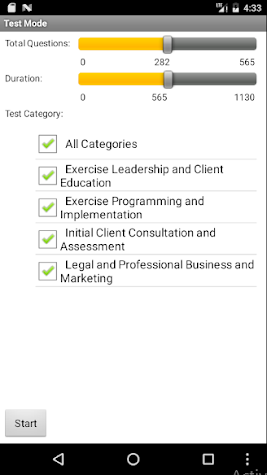 ACSM CPT Trainer Exam Prep Screenshot