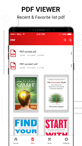 PDF reader screenshot 1