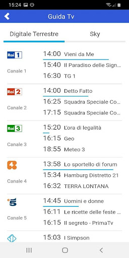 Pocket Italia - Tv 1.0 screenshots 4