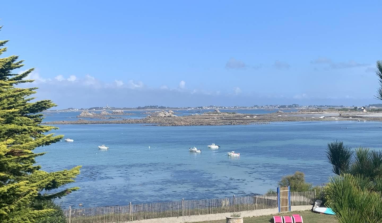 Propriété en bord de mer Finistère