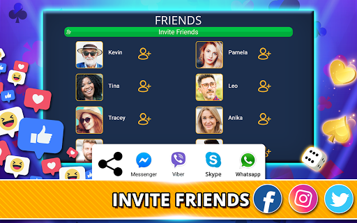 VIP Games: Hearts, Rummy, Yatzy, Dominoes, Crazy 8 android2mod screenshots 19