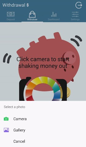 android CoolAppHQ PiggyBank Screenshot 1