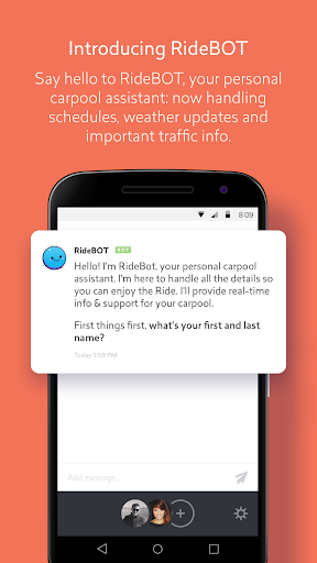 Ride: The App for Carpooling
