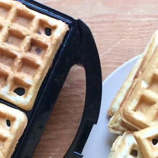 Easy Vegan Waffles.