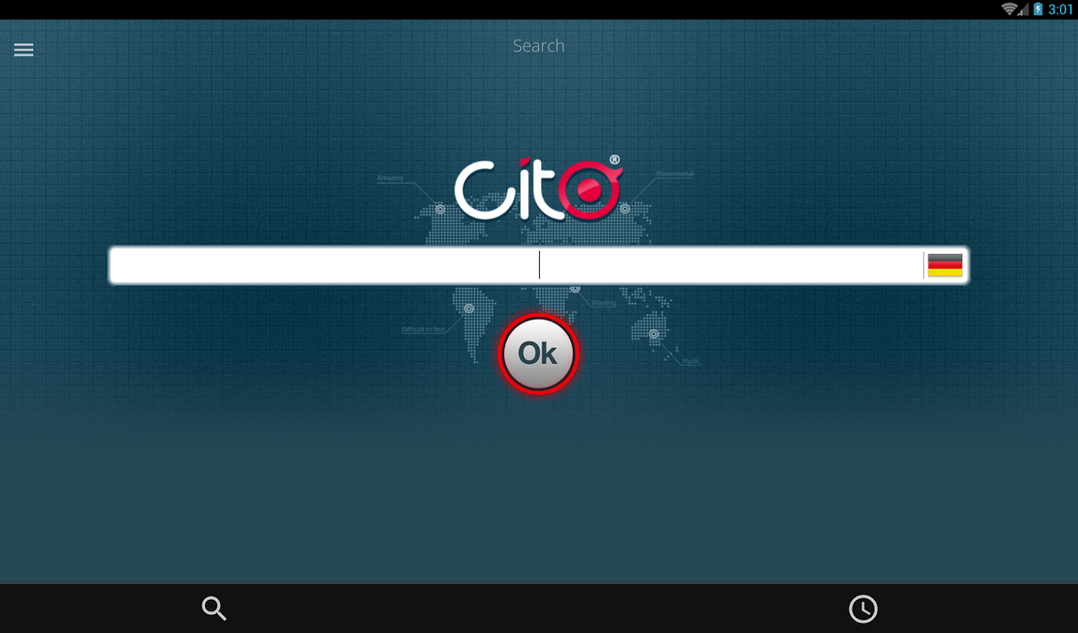 CitoCode- screenshot