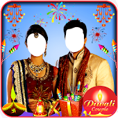 Diwali Couple Photo Suit Hd