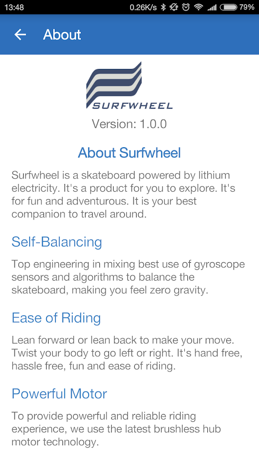 Surfwheel - Surfing on land- screenshot