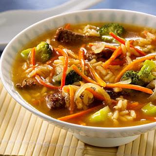 Teriyaki Beef Soup