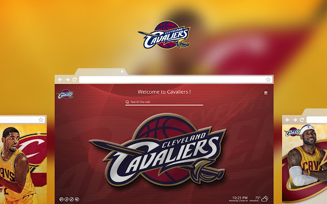 OFFICIAL NBA Cleveland Cavaliers HD Tab Theme - Chrome Web Store