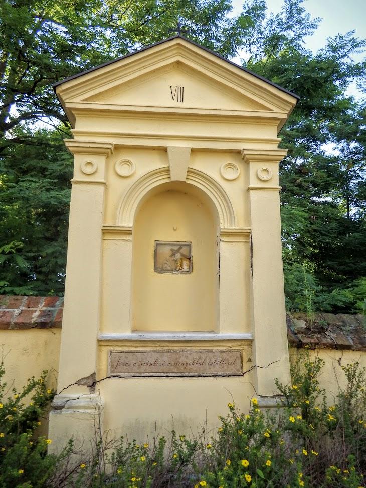 Répcevis - Szent András rk. templom a kálváriával