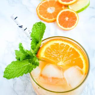 Orange Blossom Citrus Mojitos