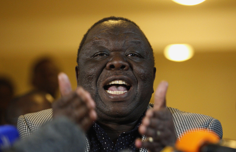 Morgan Tsvangirai to be buried next week, next to his first wife