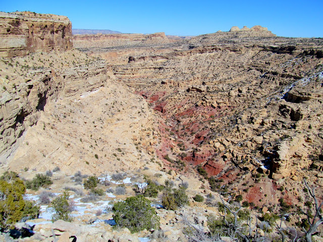 Head of Virgin Spring Canyon