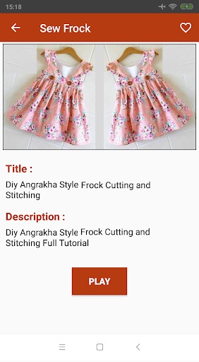 Diy Frock Stitching : frock, stitching, Frock, Cutting, Stitching, Videos, Download, Android, APKtume.com