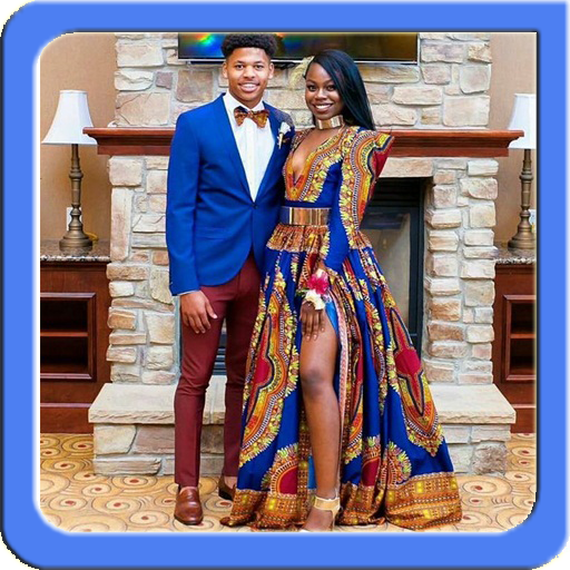 African Couple Fashion Ideas