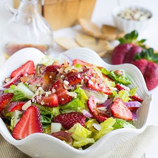 Strawberry, Bacon, and Feta Salad.