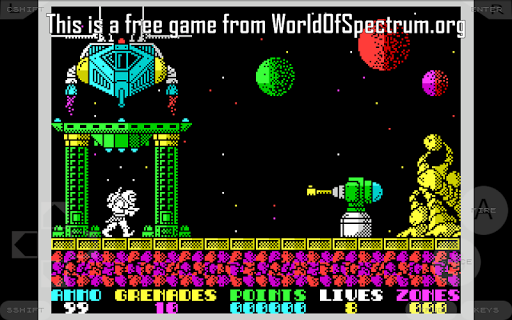 Speccy - Complete Sinclair ZX Spectrum Emulator screenshots 7