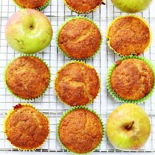 Cinnamon Applesauce Muffins.
