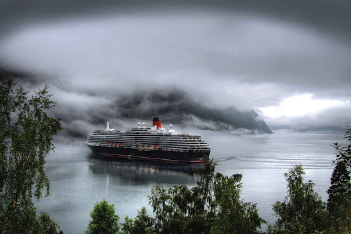 Norway-Aurlandsfjord-cruise-ship - Imagine cruising through the dramatic Aurlandsfjord in Norway.