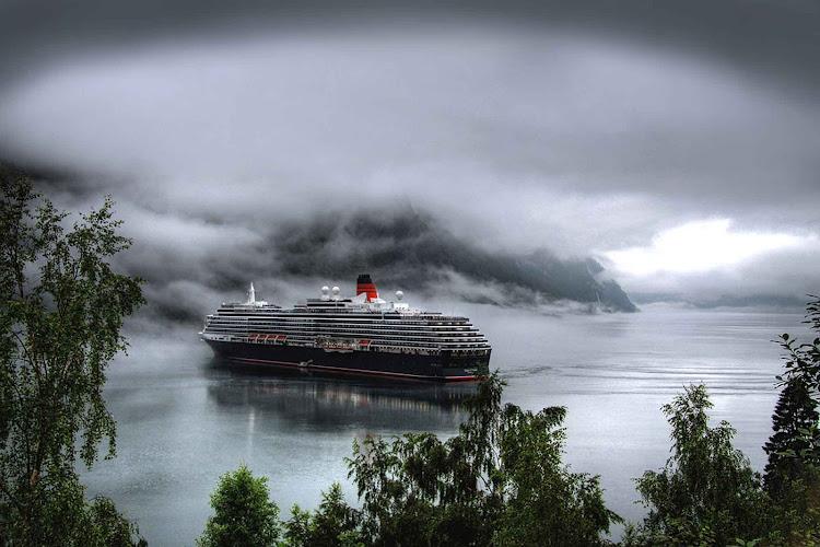 Imagine cruising through the dramatic Aurlandsfjord in Norway.
