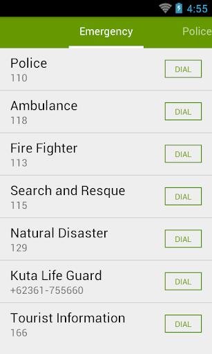 Bali Emergency Numbers