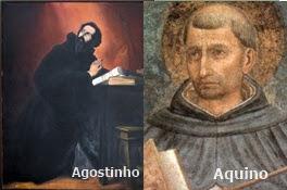Filosofia Santo Agostinho E São Tomás De Aquino