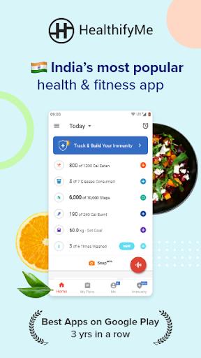 Calorie Counter,  Home Workout & Weight Loss Plans screenshots 1