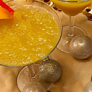 Citrus Brandy Slush.