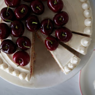 Homemade Cherry Chip Cake
