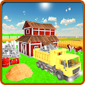 Village Farm Construction Sim icon
