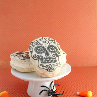 Day of the Dead Macarons.