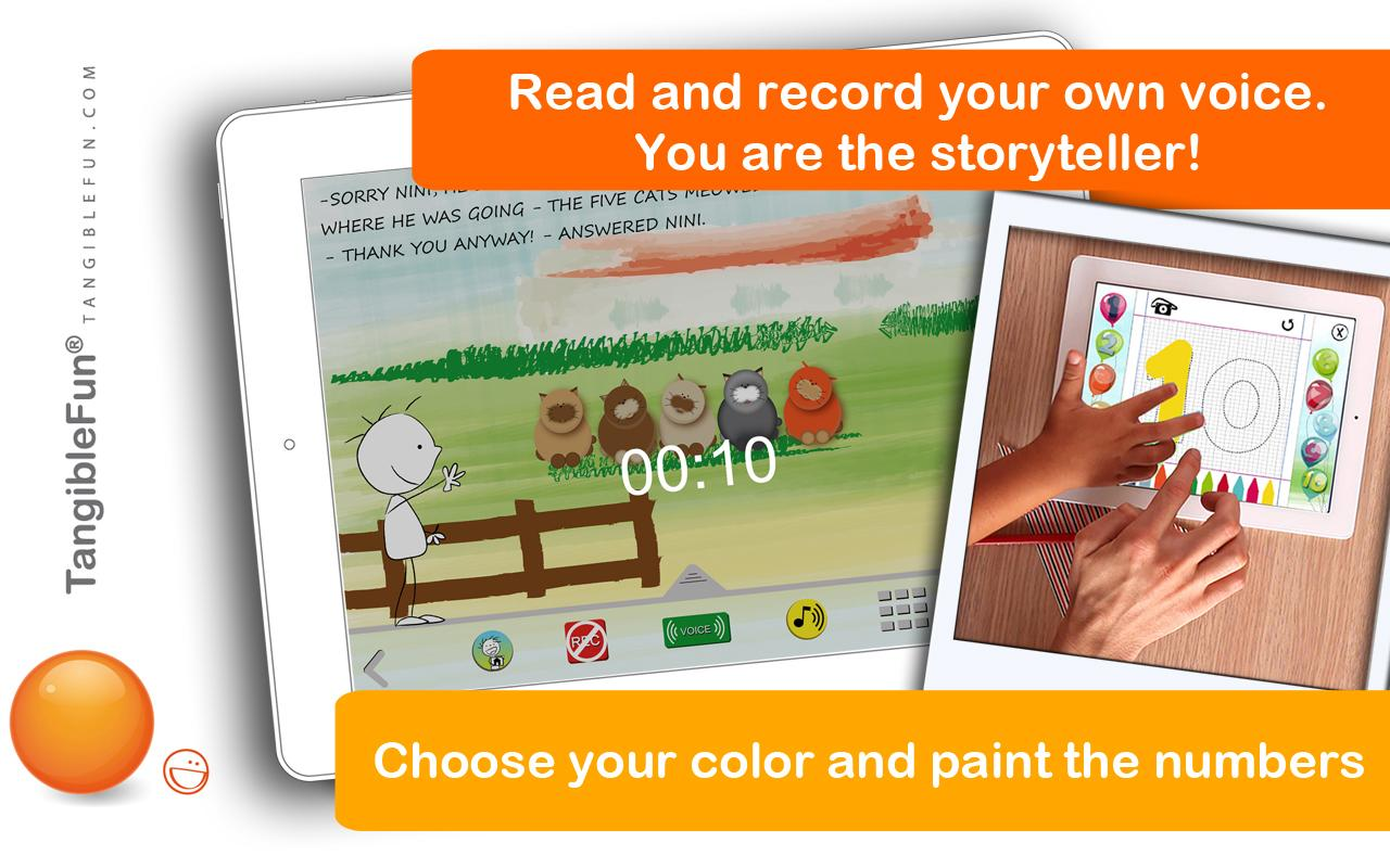 Short stories: learn to count- screenshot