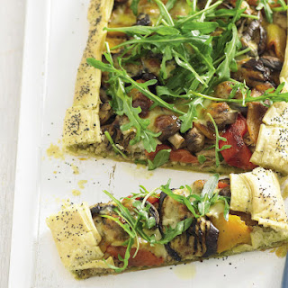 Tuna and Vegetable Galette