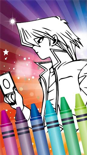 u2666ufe0f Colorbook for Yugi Duel Battle 1.5 screenshots 8