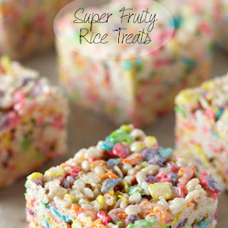 Super Fruity Rice Treats