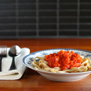 Tomato Sauce with Butter and Onion.