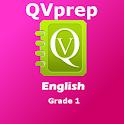 QVprep English Grade 1 One 1st