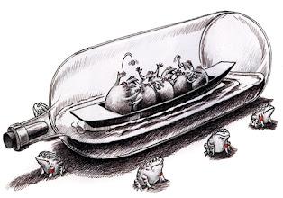 Photo: 邝飚漫画:密室政治