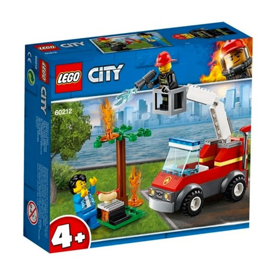 LEGO City Fire - Grillbrand 60212