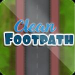 Clean Footpath icon