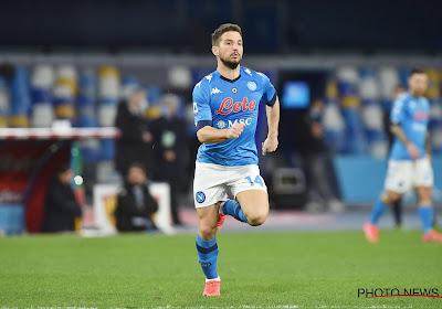 Le Napoli et Dries Mertens tenus en échec par Sassuolo